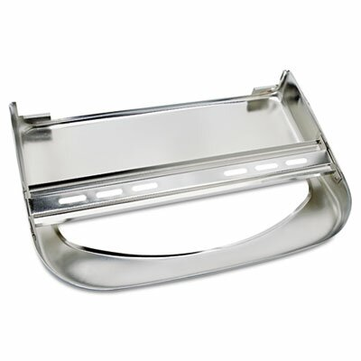 Krystal Wall-Mount Toilet Seat Cover  Dispenser, Chrome, 1 EA