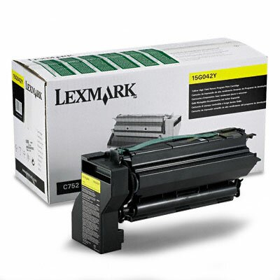 Lexmark International High-Yield Toner, 15000 Page-Yield