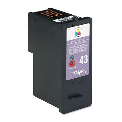 Lexmark International Ink Cartridge, 500 Page-Yield