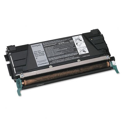 Lexmark International High-Yield Toner, 8000 Page-Yield