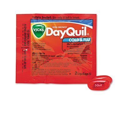 Lil' Drugstore Vicks DayQuil LiquiCaps, (30 Packs per Box)