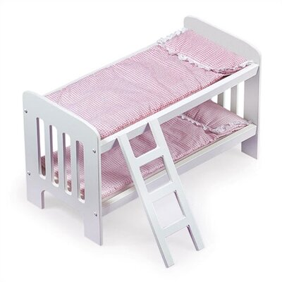 Badger Basket Doll Bunk Beds