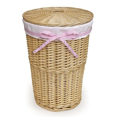 Badger Basket Round Rattan Hamper