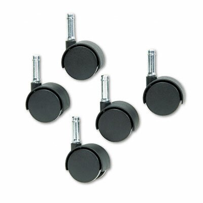 Master Caster Company Duet Twin Wheels, 100 Lbs./Caster (Set of 5)
