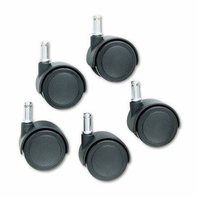 Master Caster Company Safety Casters, 100 Lbs./Caster, Nylon (Set of 5)