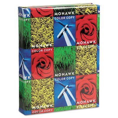 Mohawk Fine Papers Color Copy Gloss Paper, 96 Brightnes, 500 Sheets/Ream
