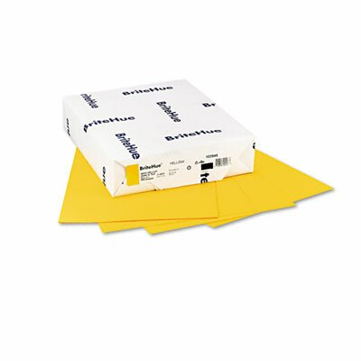 Mohawk Fine Papers BritehueMultipurpose Colored Paper, 24Lb, 8-1/2 X 11, 500 Sheets/Ream