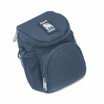 NORAZZA, INC. AC165 Case for Cameras, Water Resistant, Nylon, 5 x 3-1/2 x 8, Black