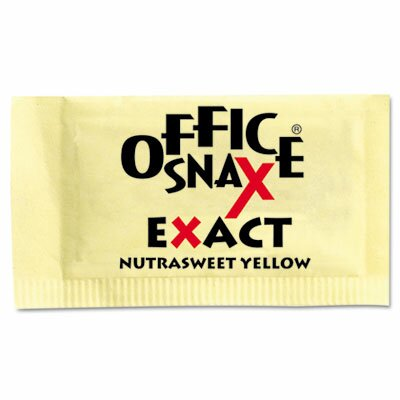Office Snax Nutrasweet Sweetener, 2000 Packets/Carton