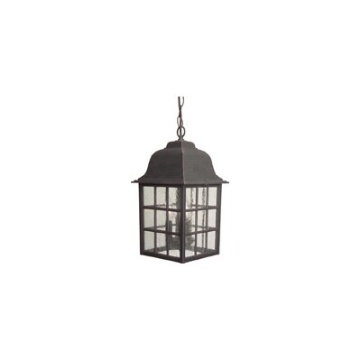 Craftmade 3 Light Outdoor Hanging Pendant