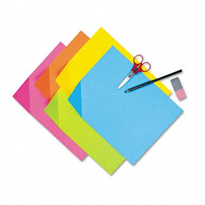 Pacon Corporation Colorwave Super Bright Tagboard, 9 X 12, 100 Sheets/Pack