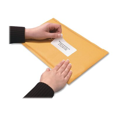 Quality Park Products Redi-Strip Shipping Envelope, Paper Stock, 7 1/2 x 9 1/2, Light Brown, 10/Box