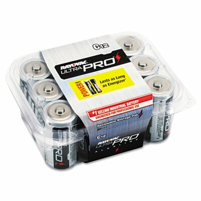 Rayovac® Ultra Pro C Alkaline Battery, 12/Pack