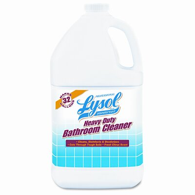 Reckitt & Benckiser Heavy-Duty Bath Disinfectant, 4 1gal Bottles/ctn