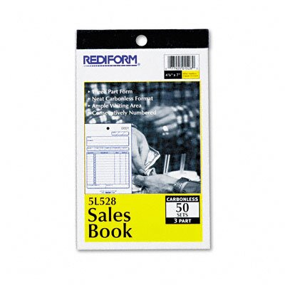 Rediform Office Products Sales Book, 50 Sets/Book