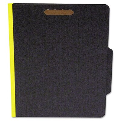 S&J PAPER Classifcation Folder, Two Dividers, 15/Box