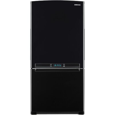 Energy Star 18 Cu. Ft. Bottom Freezer Refrigerator with Side Swing Freezer Door