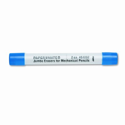 Sanford Ink Corporation Mechanical Pencil Eraser Refills, 64892, Two Per Pack                                                                        