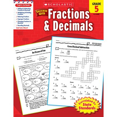 Scholastic Scholastic Success With Fractions &