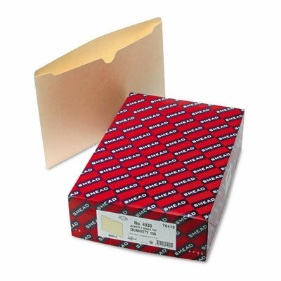 Smead Manufacturing Company File Jackets, 100/Box