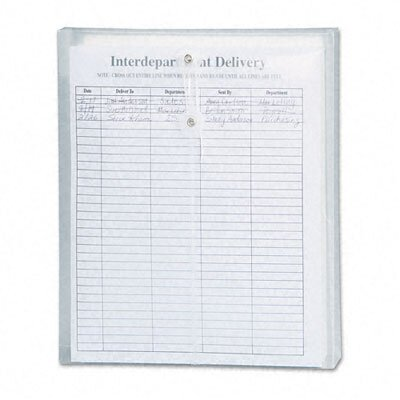 Smead Manufacturing Company Poly String & Button Envelope, 9 3/4 X 11 5/8 X 1 1/4, 5/Pack