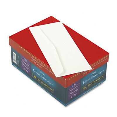 Southworth Company 25% Cotton #10 Envelope, 250/Box, Fsc