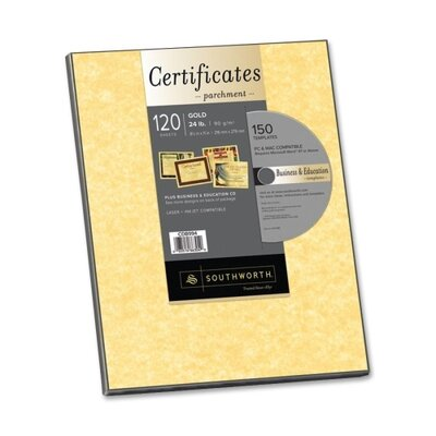 Southworth Company Parchment Paper with CD