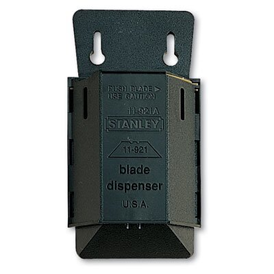 Stanley Bostitch Wall Mount Utility Knife Blade Dispenser, 100/Pack