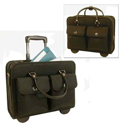 Stebco LLC Nylon Rolling Laptop Case