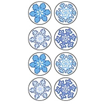 Teacher Created Resources Winter Mini Stickers 378 Stks