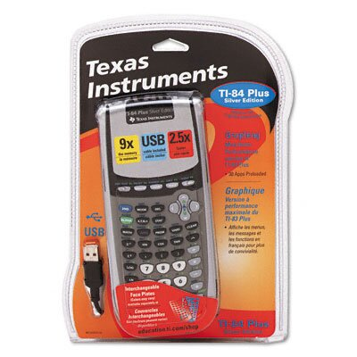 Texas Instruments TI-84PLUS Programmable Graphing Calculator 10- Digit LCD
