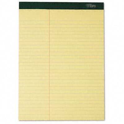 Tops Business Forms Double Docket Ruled Pads, Law Rule, Letter, 6 100-Sheet Pads/Pack