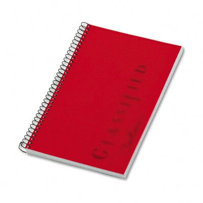 Tops Business Forms Notebook, Narrow Rule, 5-1/2 x 8-1/2, 100 Sheets