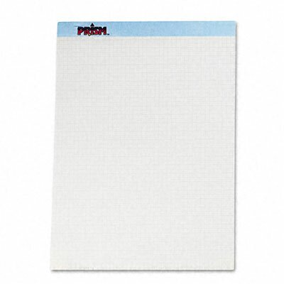 Tops Business Forms Prism+ Quadrille Perforated Pads, 50 Sheets/Pads, 12/Pack