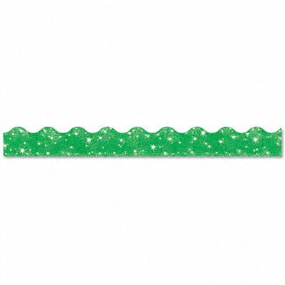 "Trend Enterprises Terrific Trimmers Sparkle Border, 2 1/4"" X 39"" Panels, 10/Set"