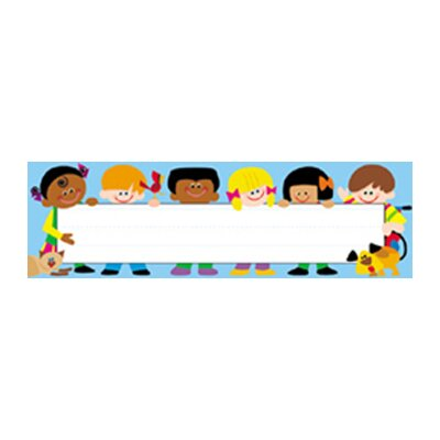 Trend Enterprises Desk Toppers Trend Kids 36/pk 2x9
