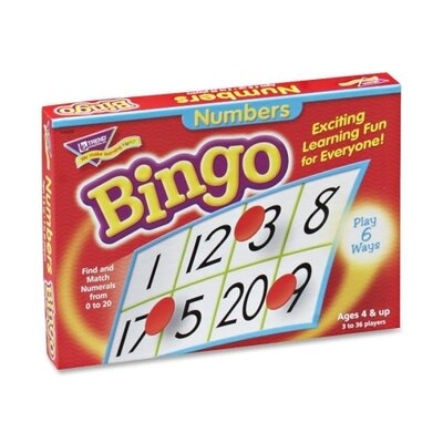Trend Enterprises Numbers Bingo Game