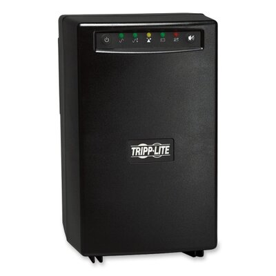 Tripp Lite SmartPro Tower UPS System, Six-Outlet 1050 Volt-Amps