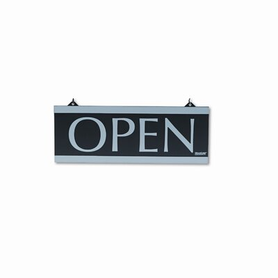 U.S. Stamp & Sign Headline Sign Century Series Reversible Open/Closed Sign