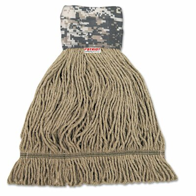 Unisan Patriot Looped End Wide Band Mop Head (12 Pack)