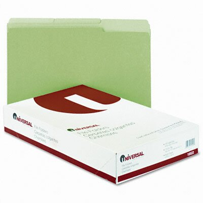 Universal® Colored File Folder, 100/Box