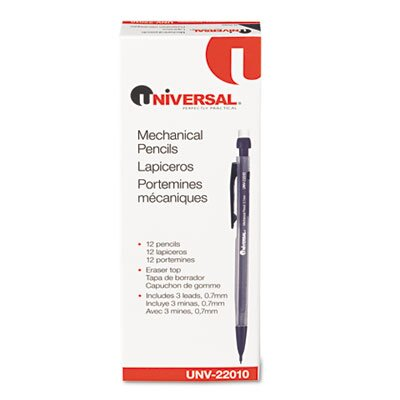 Universal® Mechanical Pencil, 12/Pack