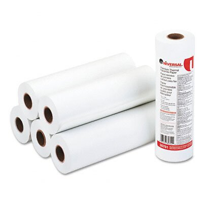 Universal® Economical Thermal Facsimile Paper, 6/Carton