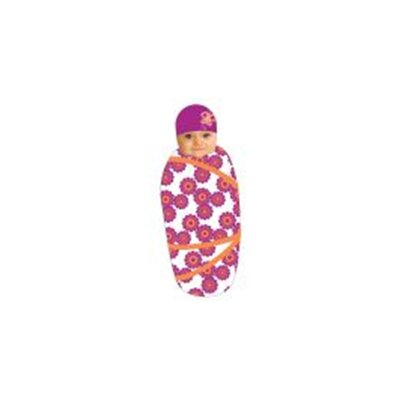 Sozo Swaddle Blanket and Cap Set