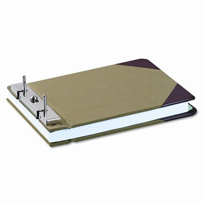 Wilson Jones Canvas Sectional Post Binder, 5-1/2 X 8-1/2, 2-3/4 Center