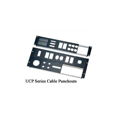 Middle Atlantic UCP Series BNC Cable Punchouts