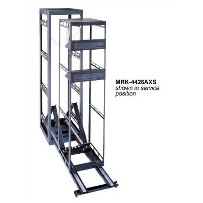 "Middle Atlantic 26"" D AXS Slide Out System Housed in MRK Steel Host Enclosure"