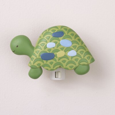 CoCaLo Baby Turtle Reef Night Light and Switch Plate Set