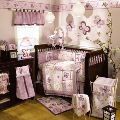 CoCaLo Baby Sugar Plum Crib Bedding Collection