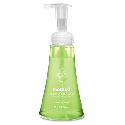 Method® Foaming Hand Wash, Green Tea Aloe Foam, 12 Oz Bottle